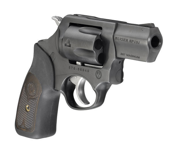 Ruger SP101 with Blued Alloy Steel Finish