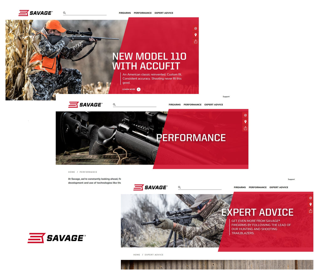 Savage Launches New Enhanced Website