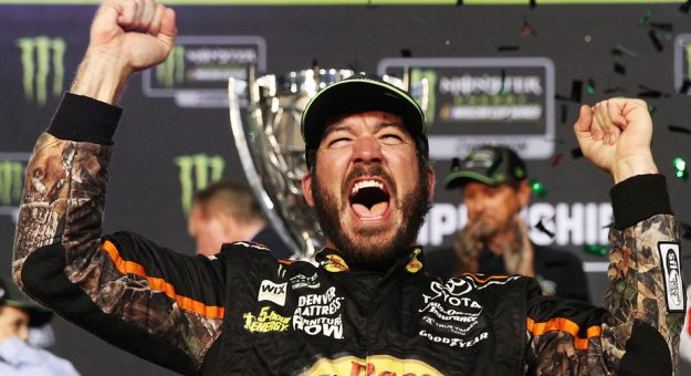 Dominant season turns into emotional championship for Truex, Furniture Row