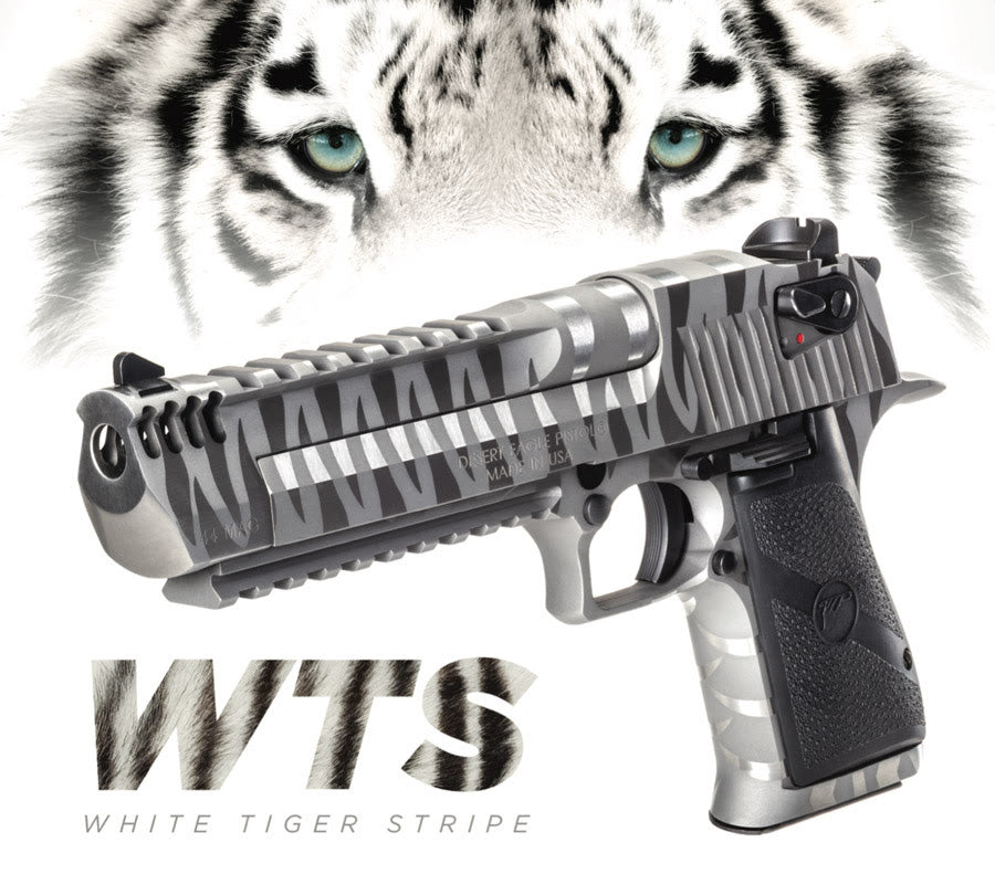 Magnum Research Introduces White Tiger Desert Eagle