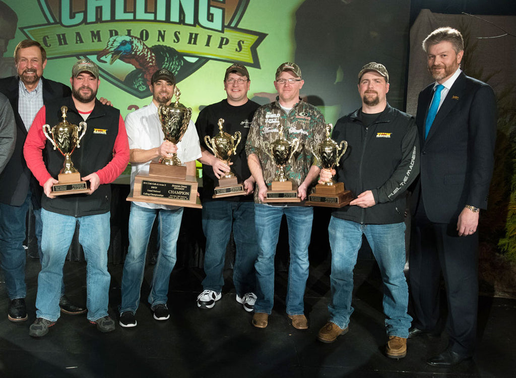 Mossy Oak Congratulates Nine ProStaffers on Top Finishes at 2018 NWTF Calling Championship