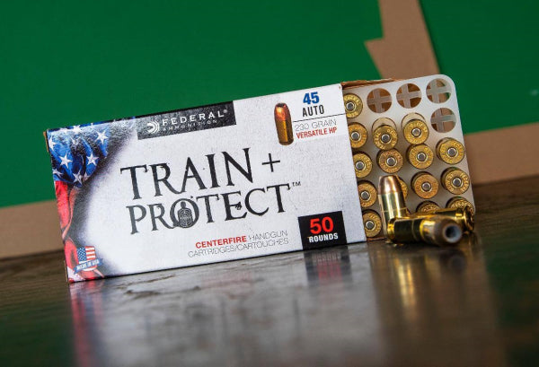 Win Federal Train + Protect Ammunition