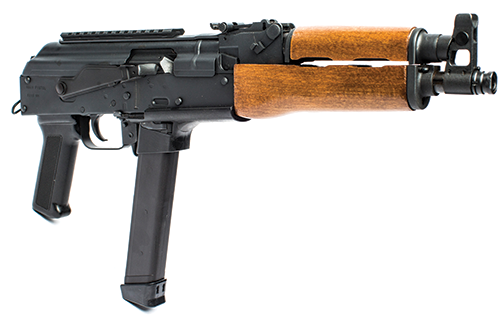 Century Arms has announced the release of a new 9mm AK-based pistol, the Draco NAK9.