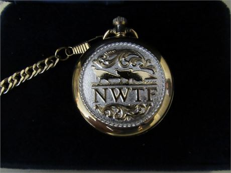 Montana Silversmiths NWTF Pocket Watch