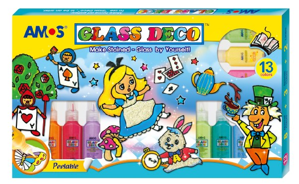 Amos-Glass Deco 22ml 13 colours