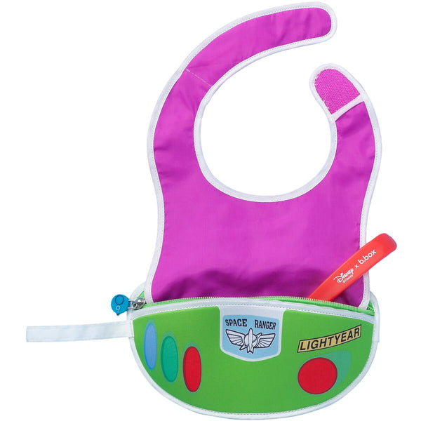 B.box-Travel Bib with Spoon (Toy Story 4 Buzz)