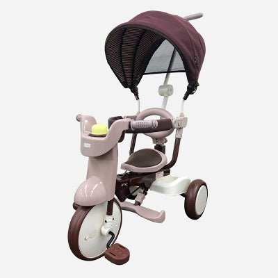 iimo- Kid Tricycle with Cover #02SS (Comfort Brown)