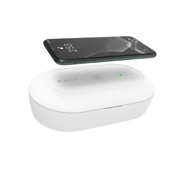 Adam Elements OMNIA UVC⁺ Ozone Sterilizer Box with Fast Wireless Charger