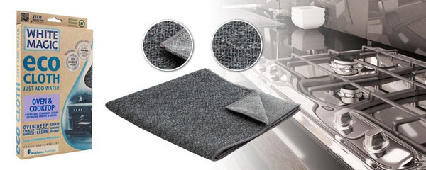 White Magic Eco Cloth - Oven & Cooktop