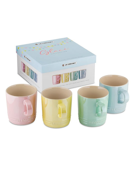 Le Creuset Mug 350ml Set of 4 - Glace