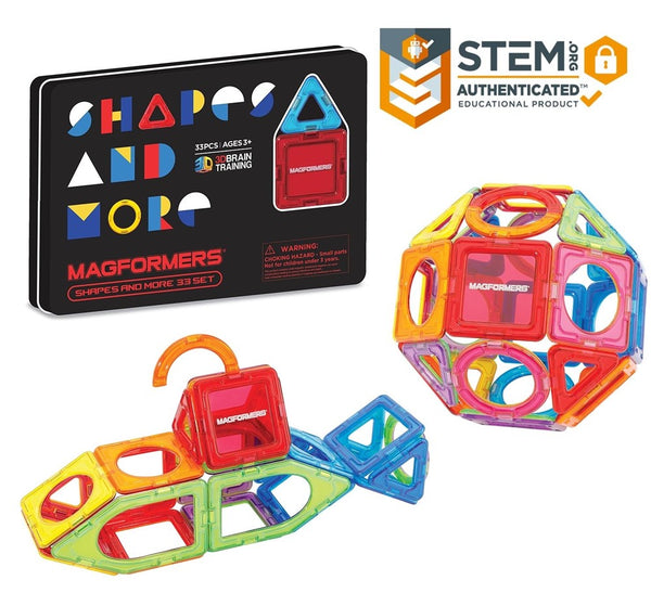 Magformers-Shapes and More 33 Set