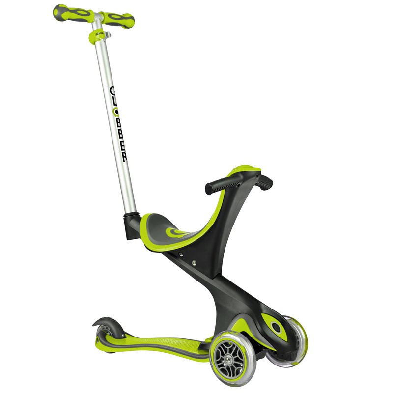 Globber Scooter Evo Comfort 5 in 1 - Lime Green