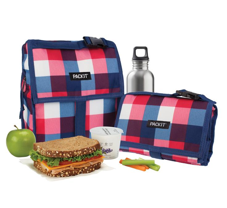 Pack It-Freezable Lunch Bag (Buffalo Check)