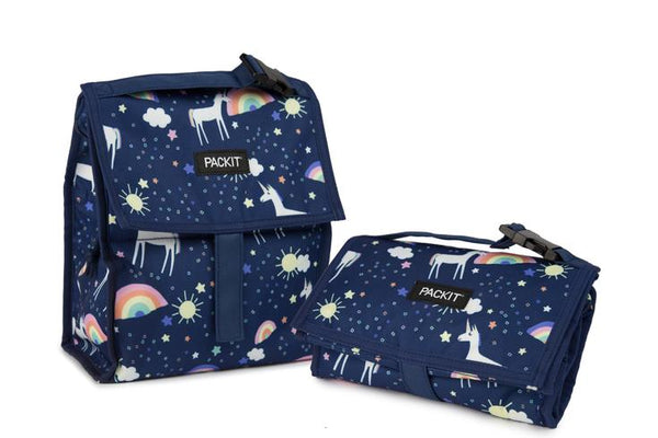Pack It-Freezable Lunch Bag (Unicorn Sky)