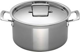 LE CREUSET® - 3-Ply Stainless Steel Deep Casserole