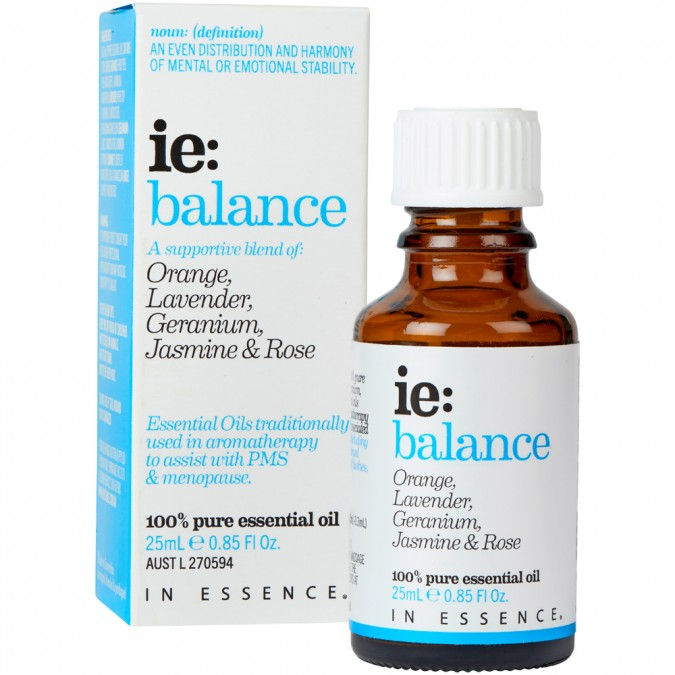 In Essence-Balance Essential Oil Blend 25mL