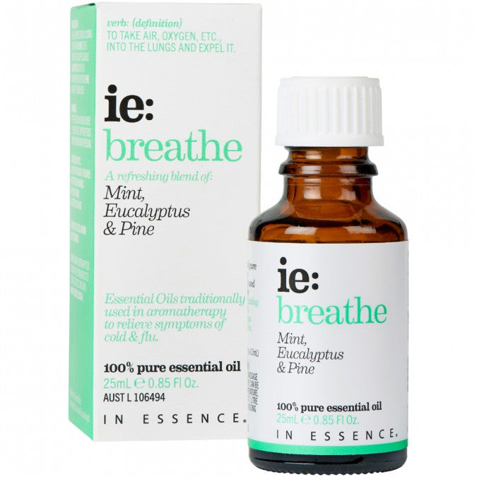 In Essence- Breathe Essential Oil Blend 25mL