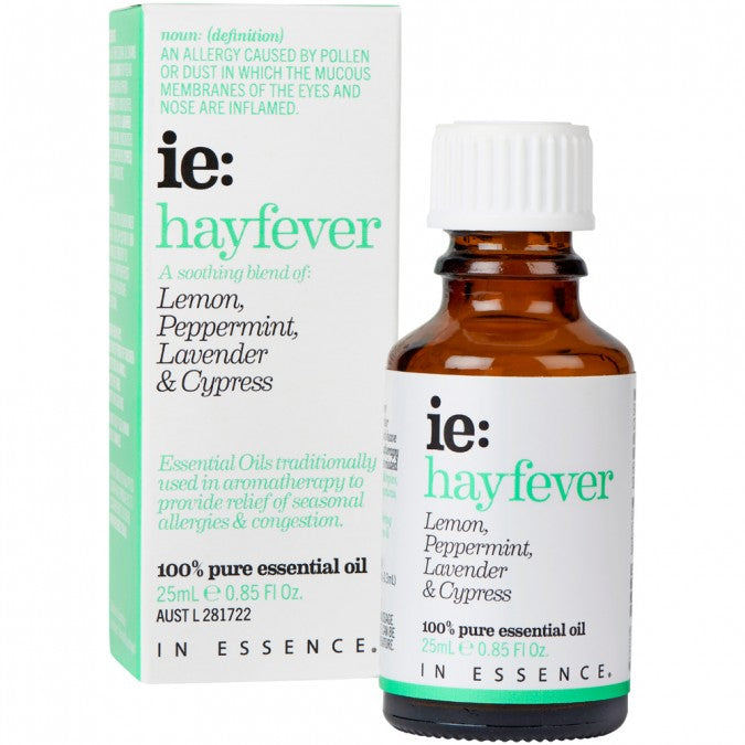In Essence- Hayfever Essential Oil Blend 25mL