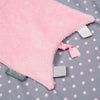 Cheeky Chompers Cheeky Blanket – Polka Dot Pink