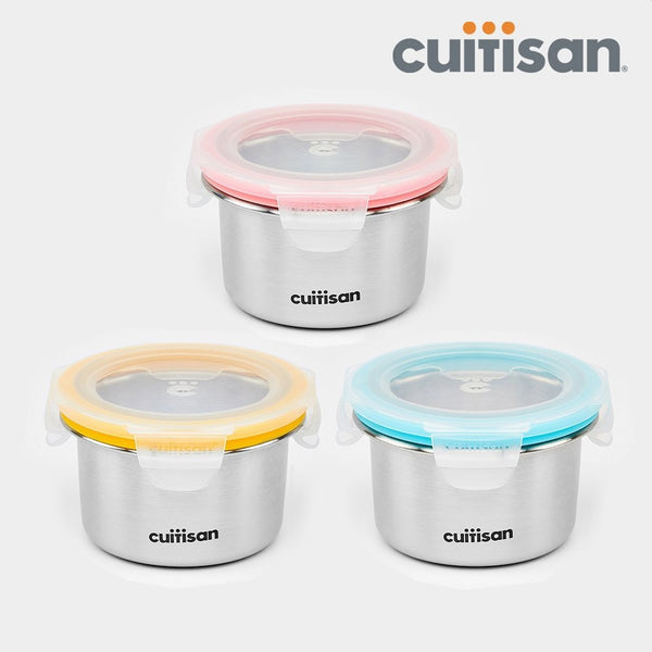 Cuitisan Baby Microwave-safe Lunch Box Set - 200ml (3p Set)