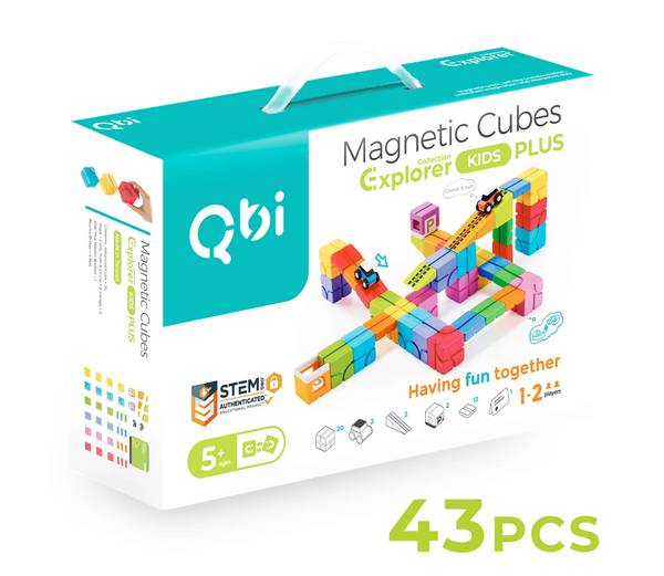Qbi - Explorer- Kids' Plus Pack (43pcs)(Suitable for Age 5+)(Early July Preorder)
