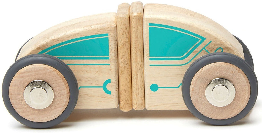 Tegu Magnetic Block Set-Future Circuit Racer