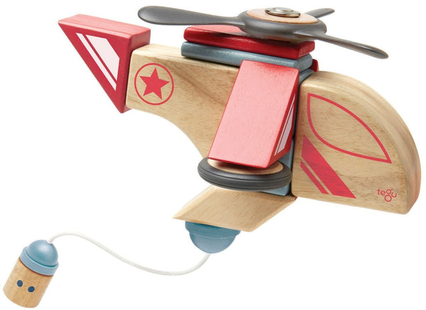 Tegu Skyhook Stunt Team - Magnetic Block Set