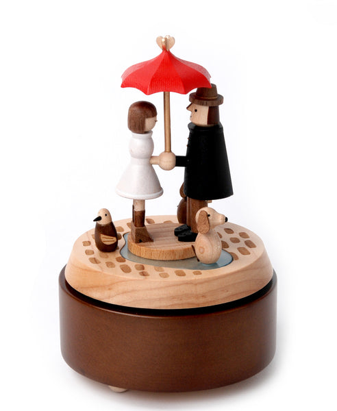 Multi Rotate Music Box-Love Umbrella 1pc