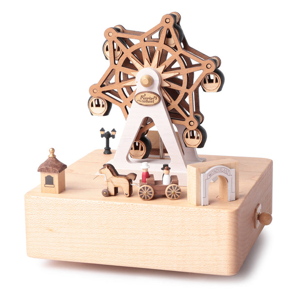 Ferris Wheel Music Box-Ferris Wheel Amusement Park 1pc