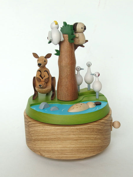 Double Go Around Music Box-Safari Park 1pc