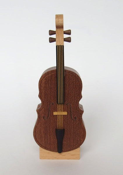 Wooderful Life Cello Mini Music Box