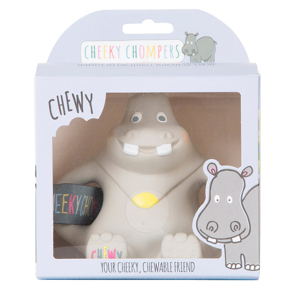 Cheeky Chompers Natural Rubber Baby Teething Toy – Chewy