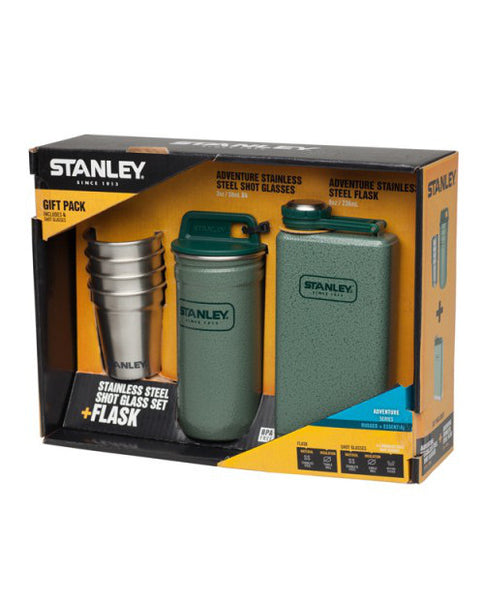 Stanley-Adventure Stainless Steel Shot Glass+ Flask Set