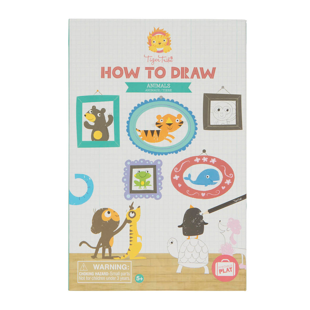 Tiger Tribe How to Draw-Animals