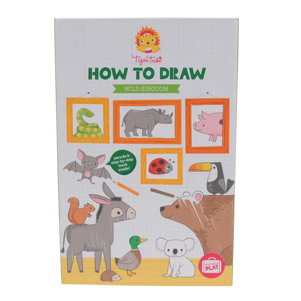 Tiger Tribe How to Draw- Wild Kingdom *Clearance*
