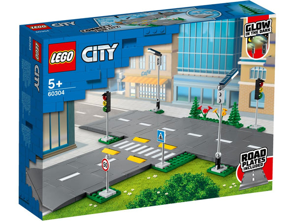 LEGO® City Road Plates