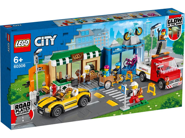 LEGO® City Shopping Street