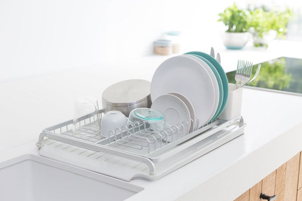 BRABANTIA DISH RACK - LIGHT GREY