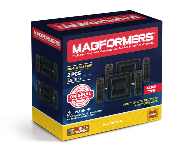 Magformers - Click Wheels Set