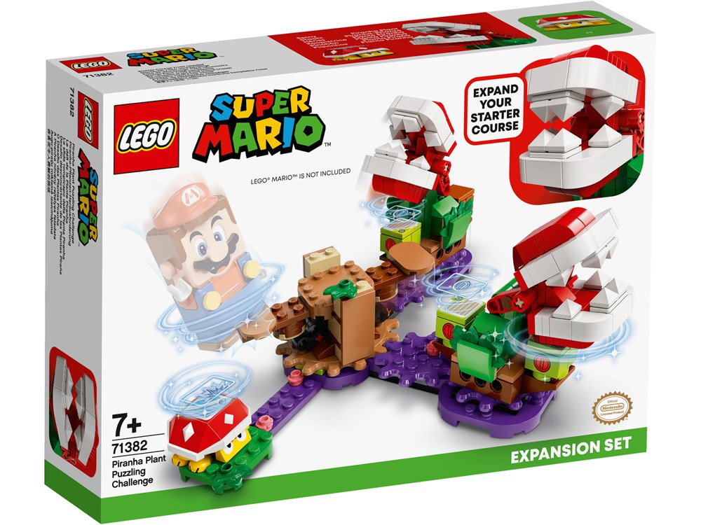 LEGO® Super Mario™ Piranha Plant Puzzling Challenge Expansion Set