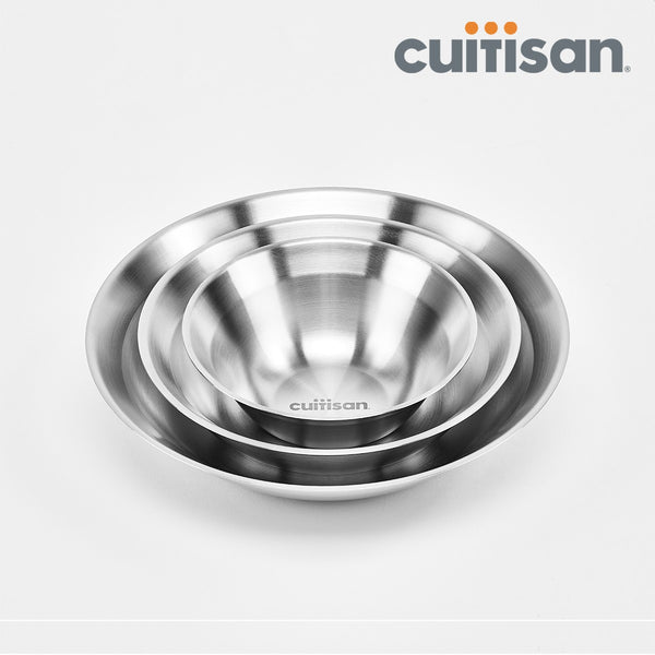 Cuitisan- Round Plate 3pc set