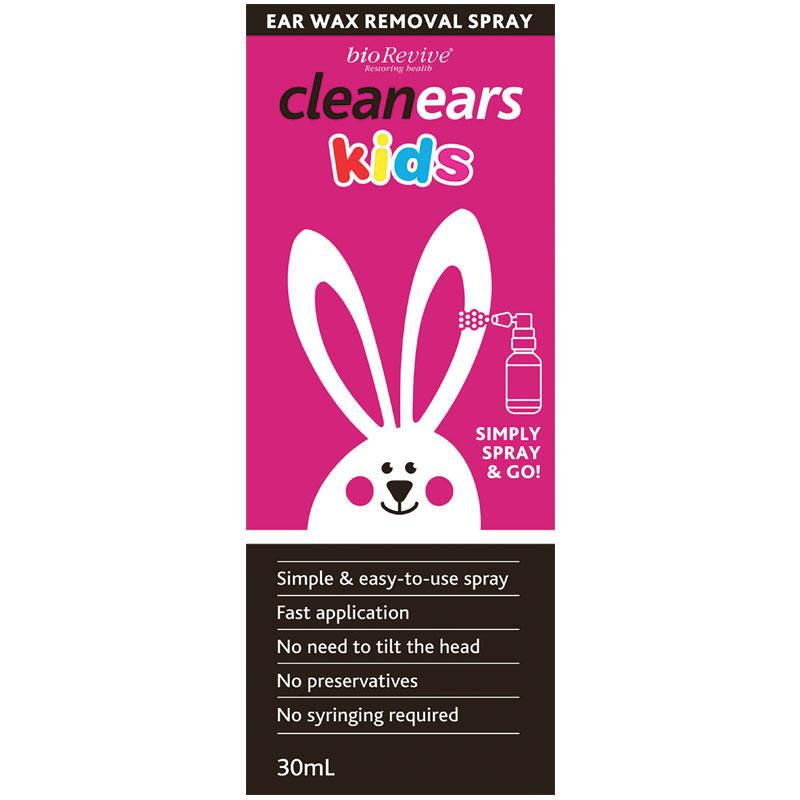 Clean Ears Wax Remover Spray for Kids 30ml