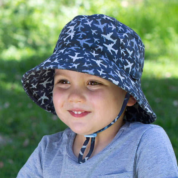 Boys Bucket Hat 'Planes' Print