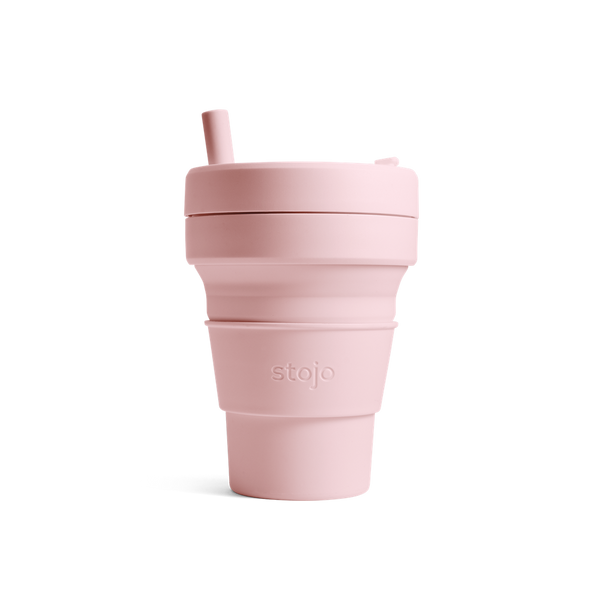 Stojo collapsible cup Biggie 470ml - Carnation