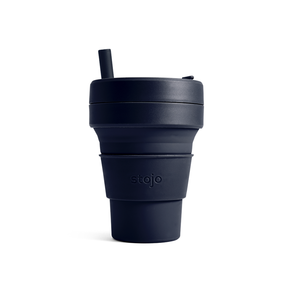 Stojo collapsible cup Biggie 470ml - Denim
