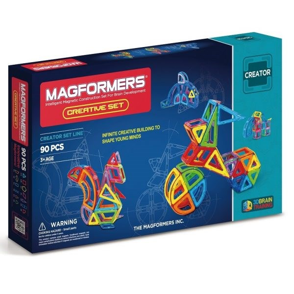 Magformers-Creative Set 90pcs
