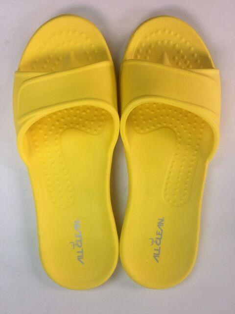 All Clean-Indoor Slipper (Yellow)