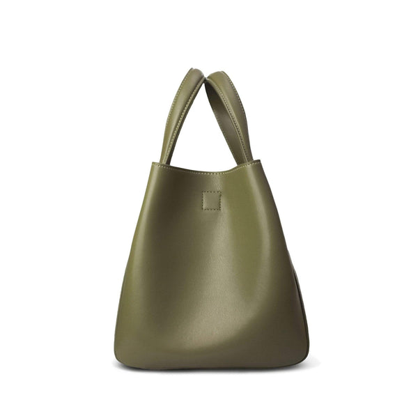 X Nihilo Eight Mini Khaki Tote/ Bucket