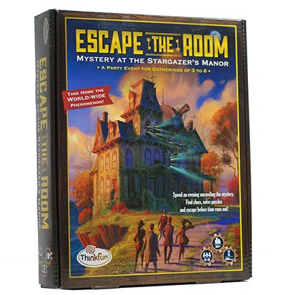 Think Fun-Escape the Room: Mystery Stargazer