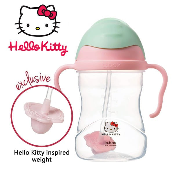 B.box Hello Kitty sippy cup - Candy floss